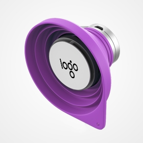 promotional portable speaker made of silicone wholesale