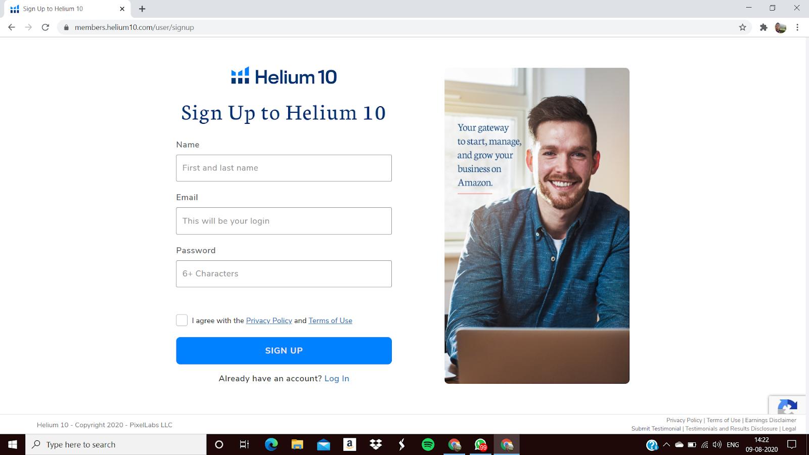 Helium 10 Official Website