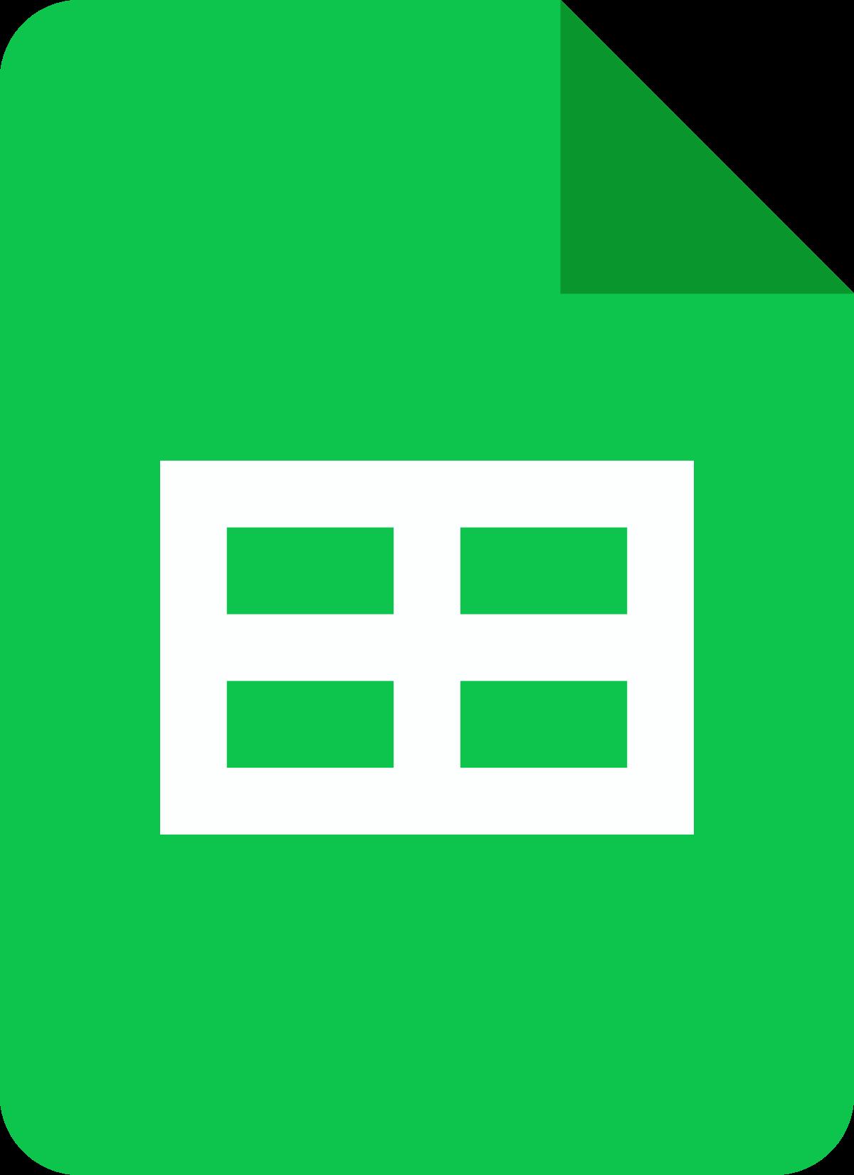 g suite app sheets